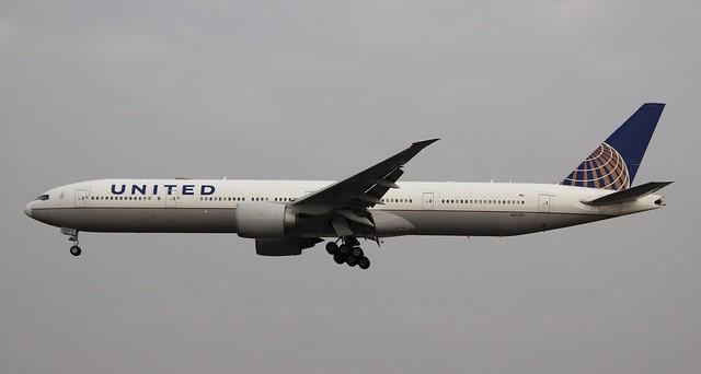 United Airlines, N2737U, MSN 62647,Boeing 777-322ER, 17.09.2021, FRA-EDDF, Frankfurt