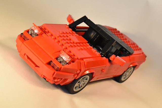 Lego Ideas Mazda Miata MX5 project, now in real bricks!