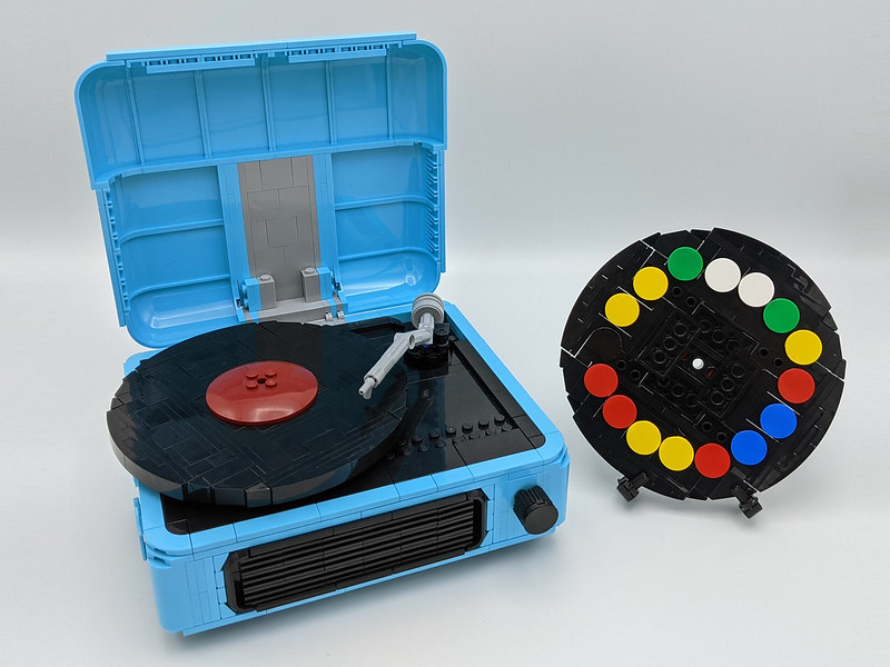 Build-A-Melody working record player
