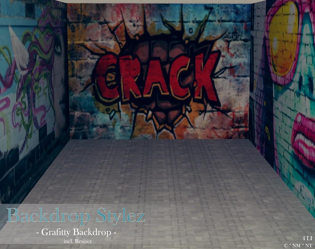 Backdrop Stylez – Grafitty Backdrop –