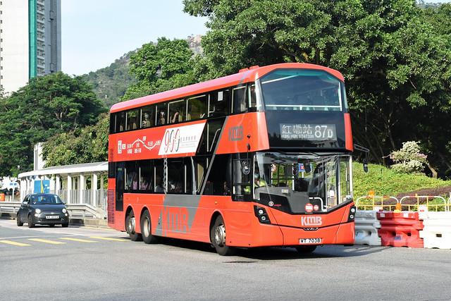 Kowloon Motor Bus V6B149 WT7038