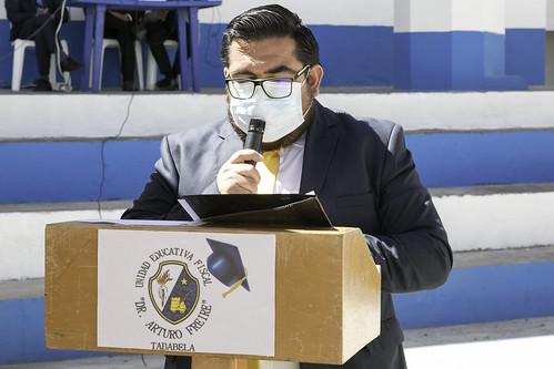 Juramento a la Bandera - Colegio Dr. Arturo Freire - Tababela