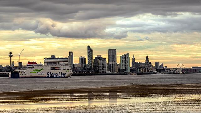Liverpool Sunset