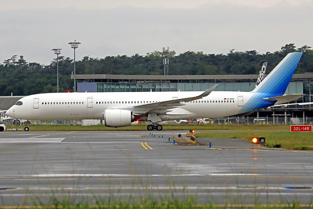 K5 Aviation Airbus A350-941 D-AKAY TLS 21-09-21