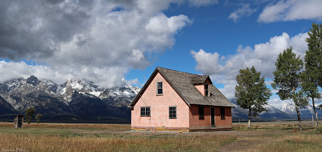 Pink House and the Teton Range