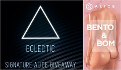 GIVEAWAY - ECLECTIC EVENT