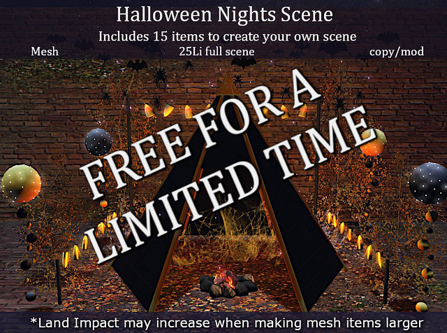 LOVE HALLOWEEN NIGHTS SCENE – FREE FOR A LIMITED TIME