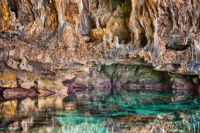 Awaiki Cave. Niue.
