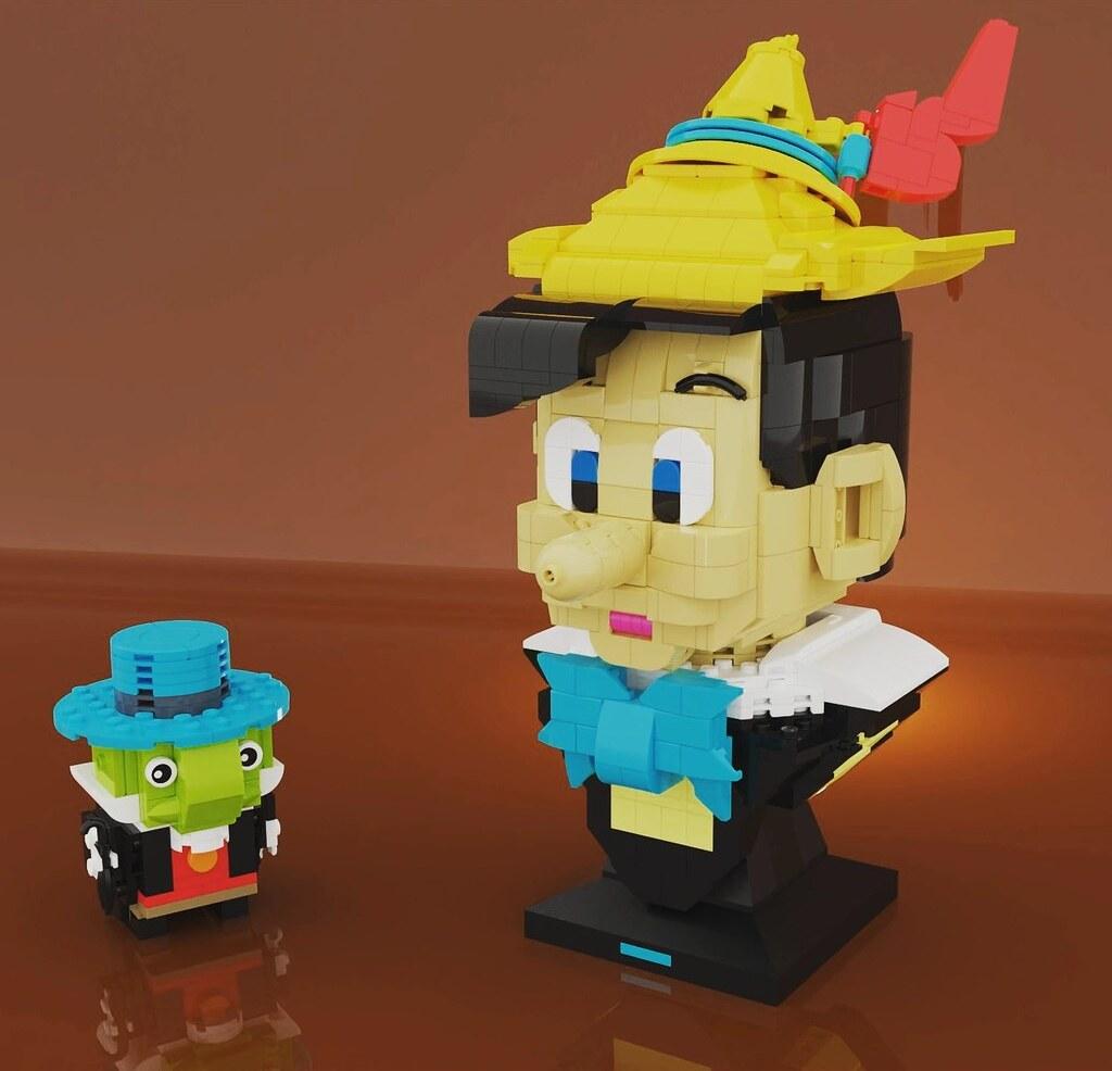 Pinocchio in LEGO Helmet style!!