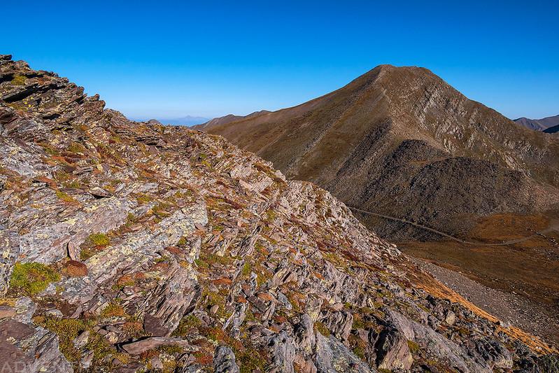 Leaving Hermit Peak