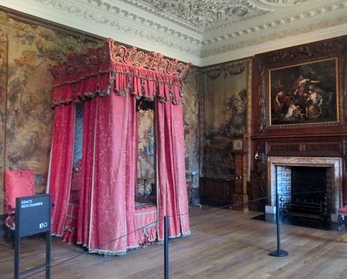 Royal Bed, Palace of Holyrood House, Edinburgh, Scotland
