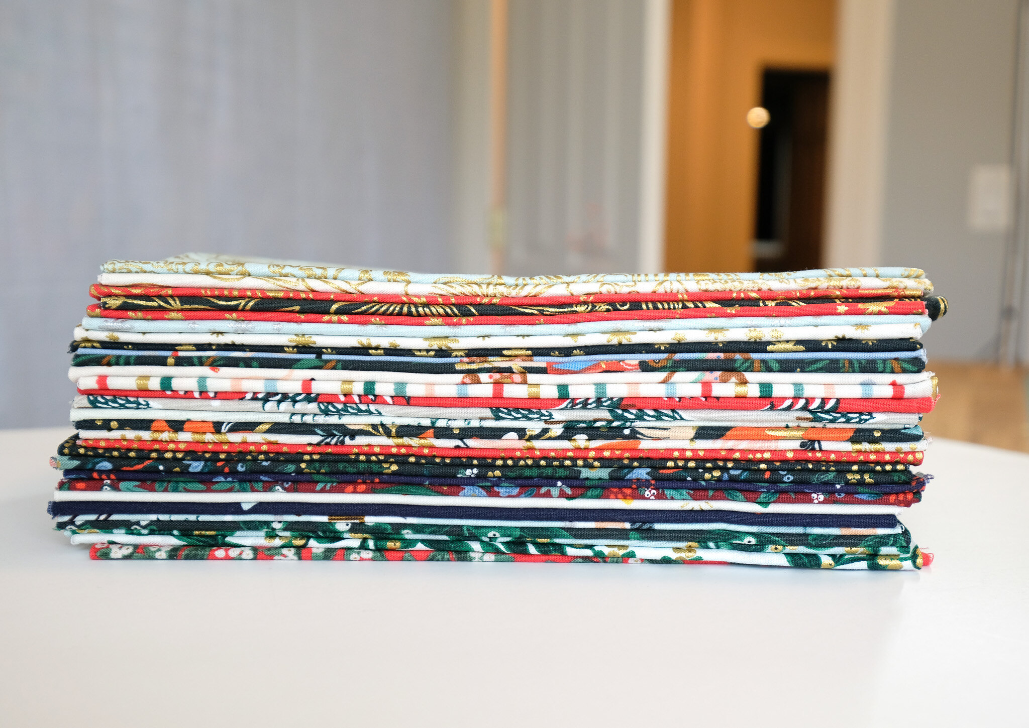 The Penny QAL Rifle Paper Co Holiday Favorites - Kitchen Table Quilting