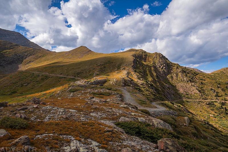 Road to Hermit Pass