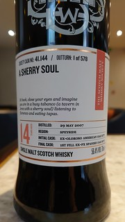 SMWS 41.44 - A Sherry Soul