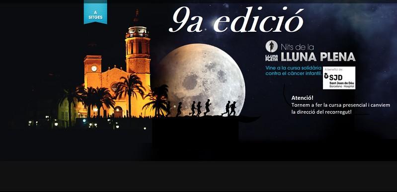 Cursa Nits de la Lluna Plena Sitges 2021