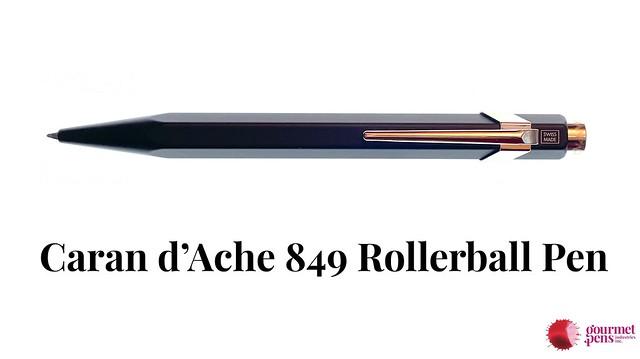 Caran d'Ache 849 Rollerball Pen