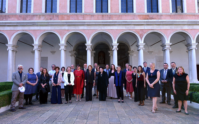 2021 Awards Winners before the Ceremony held in Venice