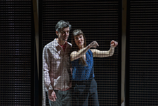 Solene Weinachter (Juliet), Ben Duke (Romeo)