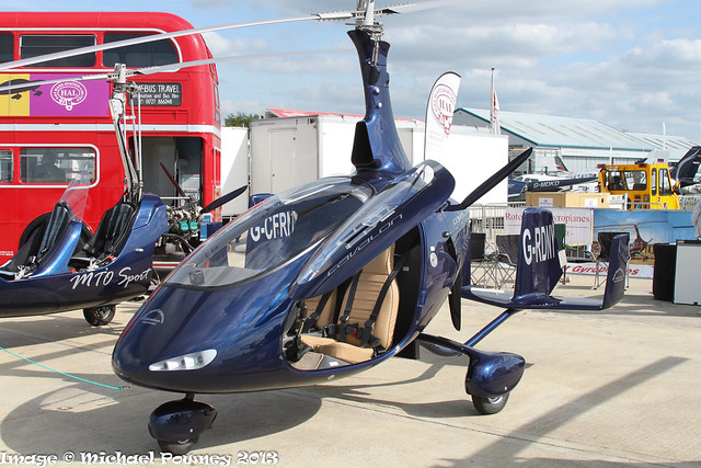 G-RDNY - 2013 build RotorSport UK Cavalon, displayed at Sywell during AeroExpo 2013