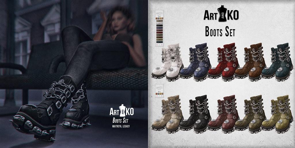 Art&Ko – Boots Set – The Warehouse Sale