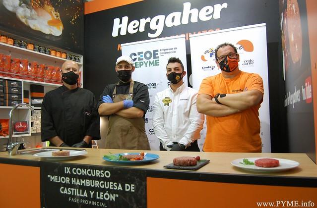 Participantes de la IX edición de la fase provincial Concurso 'La Mejor Hamburguesa de Castilla y León'