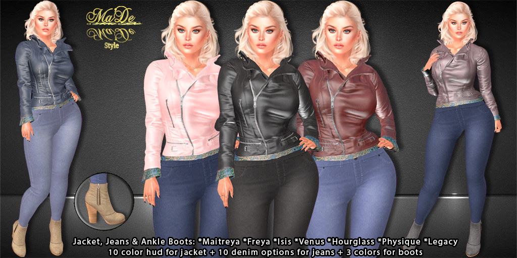 [>Ma'De<] Opal Full Outfit Cover