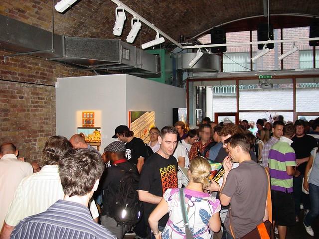 Mobbed book signing, Black Rat Press, June 2009