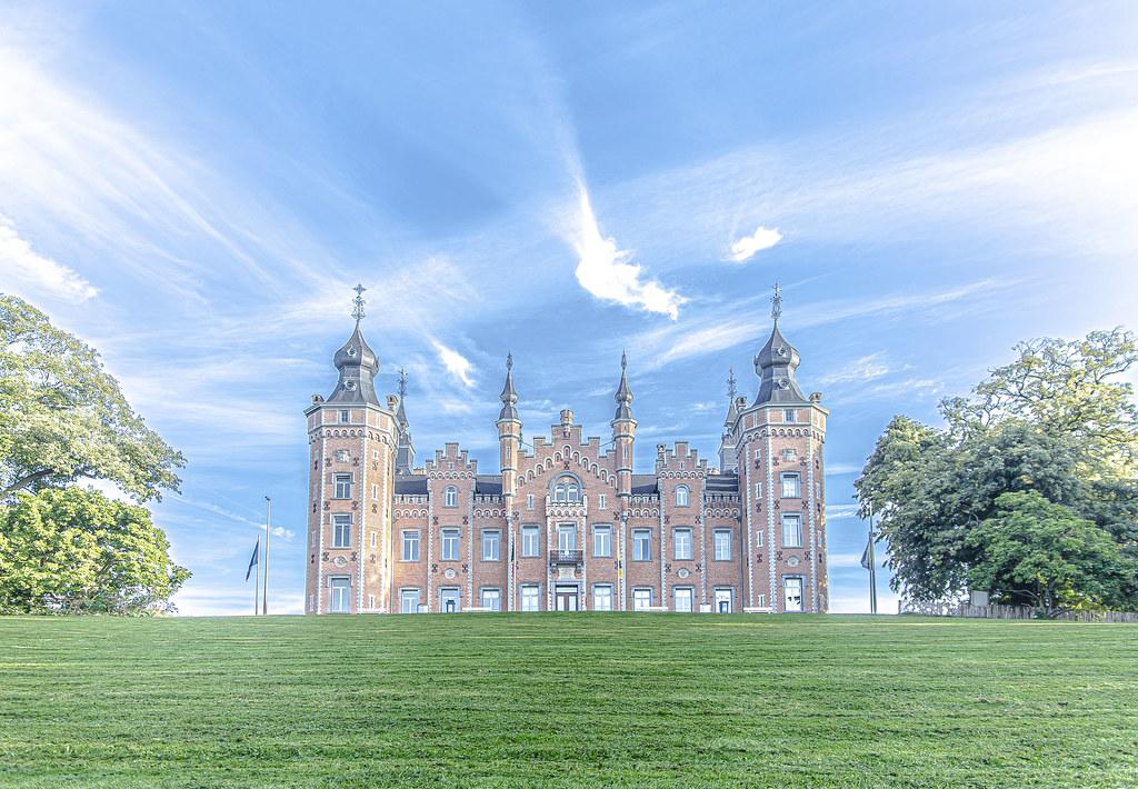 Castle of Dilbeek (Belgium)