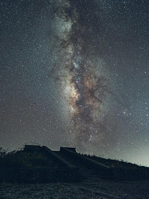 瑪雅平台銀河 合歡山主峰