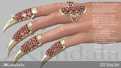 KUNDALA L02 Ring Set