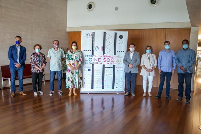 Presentación del Festival de Cine Social de Castilla-La Mancha