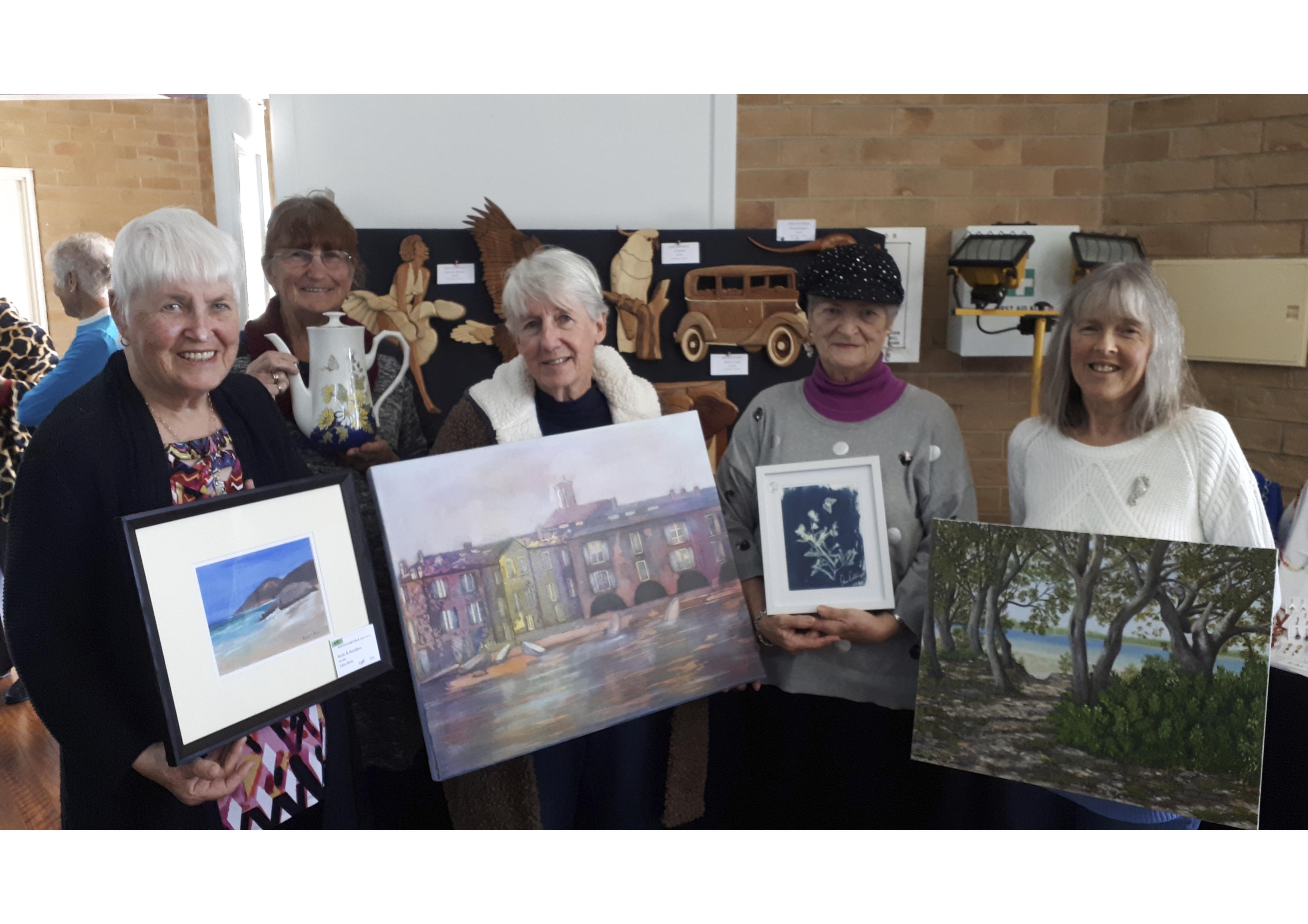 Art & Craft 312 newsletter group 2