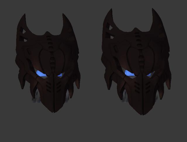 Updated Icarax mask size!