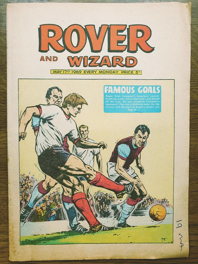 Rover & Wizard - Roger Hunt