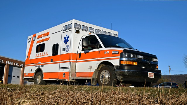 Ambulance at Breezewood fire department [02]