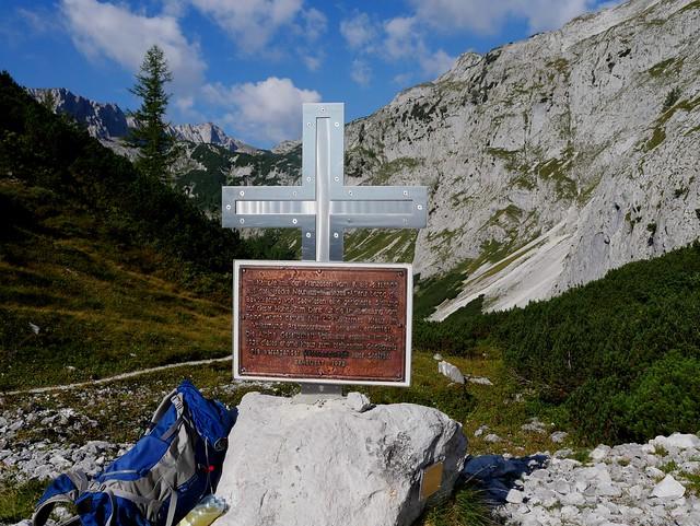 Hochschwab, Franzosenkreuz / French Cross