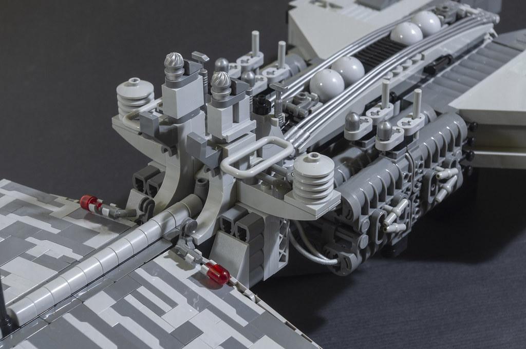 LEGO spaceship greebles