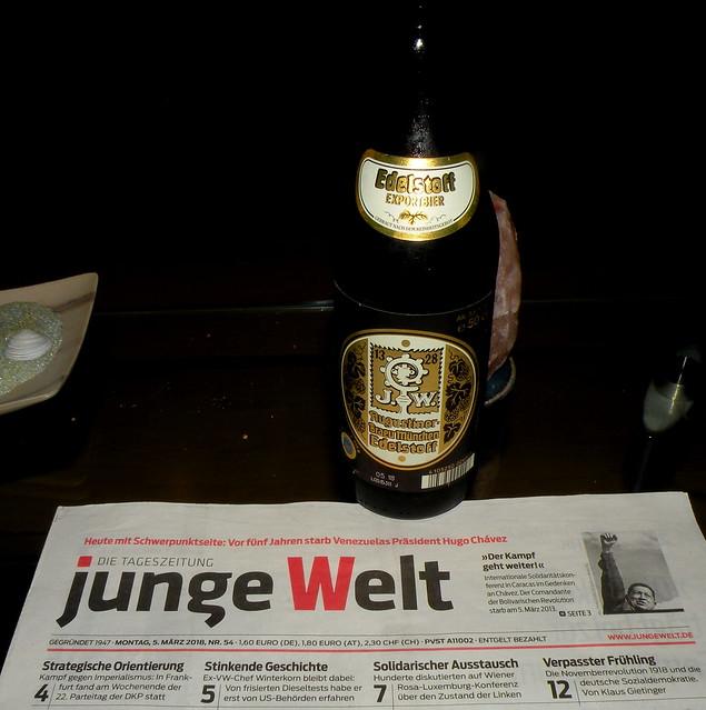 Augustiner Bräu Edelstoff Export Bier