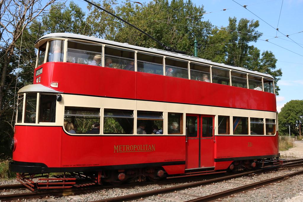 Trams: Metropolitan Electric Tramways: 331 Glory Mine