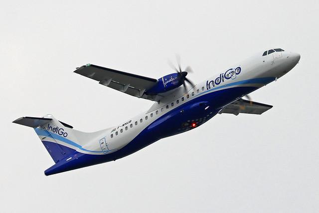 IndiGo ATR 72-600 F-WNUB (VT-IXZ) TLS 21-09-21