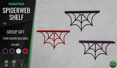 MadPea Group Gift: Spiderweb Shelf
