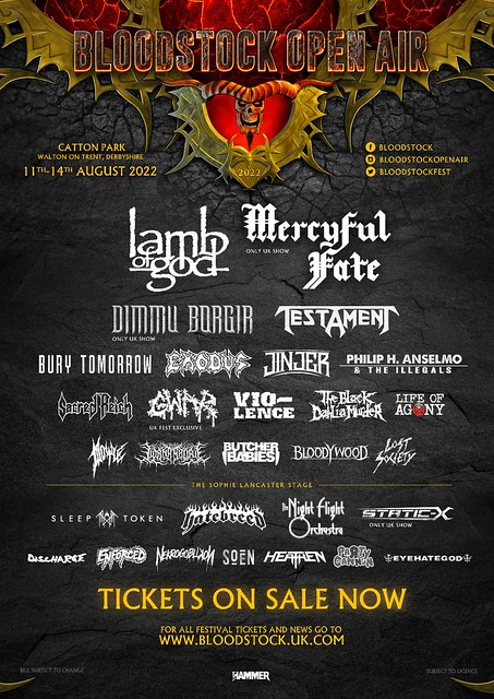 Bloodstock Announces Twelve More Bands For 2022