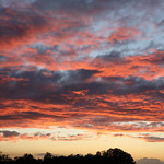 27. September 2021 - 19:21 - Sunset from home