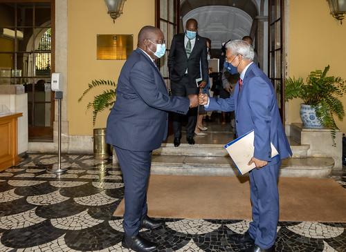21.09. Secretário Executivo recebe cartas credenciais do Embaixador de Angola junto da CPLP