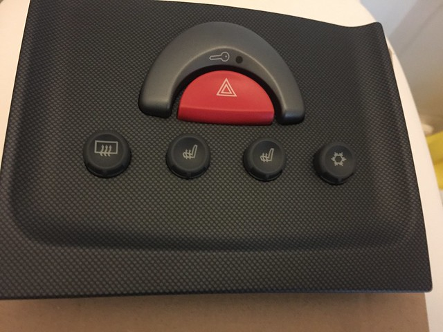 Smart Roadster 452 Xclusive switch panel safety island aircon heated seats