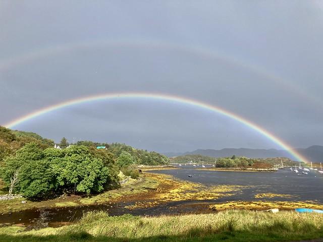 Rainbow over the bay