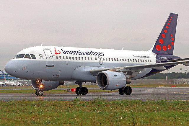 Brussels Airlines Airbus A319-112 OO-SSR TLS 21-09-21