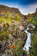 Ogwen Waterfall Snowdonia