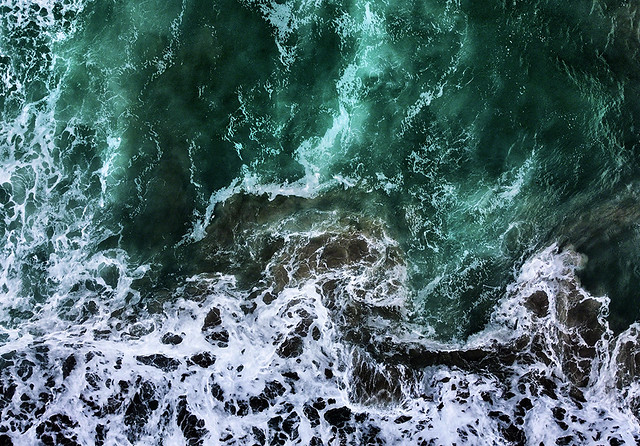 Sea Abstract - West Cork