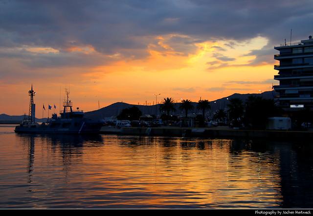 Sunset, Kavala, Greece
